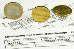 Foto Lohn- und Gehaltsabrechnung